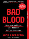 Bad Blood [EBOOK]